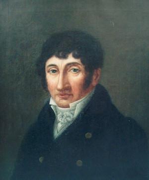 Samuel Bogumił Linde – portret olejny z 1 połowy XIX wieku, być może pędzla Aleksandra Kokulara – ze zbiorów Książnicy Kopernikańskiej w Toruniu