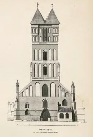 C. Steinbrecht, Thorn in Mittelalter, Taf. VII