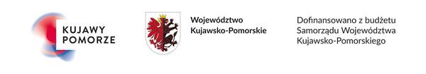 baner - dofinansowano z budżetu Samorządu Województwa Kujawsko-Pomorskiego